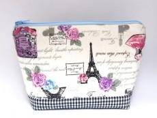 Kosmetiktasche / Schminktasche Motiv Paris