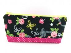 Tasche für Diabetiker / große Kosmetiktasche  Rosen & Tupfen