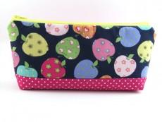 Tasche für Diabetiker / große Kosmetiktasche Äpfel