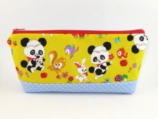 Tasche für Diabetikerbedarf  / große Kosmetiktasche Pandabären