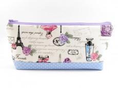 Tasche für Diabetikerbedarf  / große Kosmetiktasche Paris