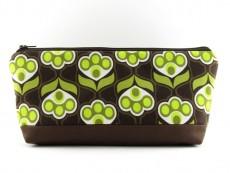 Tasche für Diabetikerbedarf  / große Kosmetiktasche Retromuster