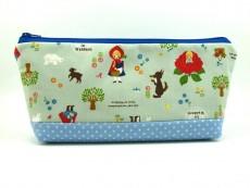 Tasche für Diabetikerbedarf  / große Kosmetiktasche Rotkäppchen