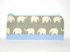 Stiftemäppchen Elefanten grau Nr.2