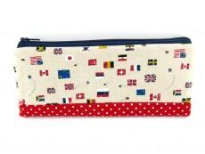 Stiftemäppchen Länderflaggen