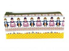 Stiftemäppchen Folklore-Püppchen