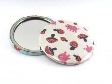 Taschenspiegel Glücksschweinchen
